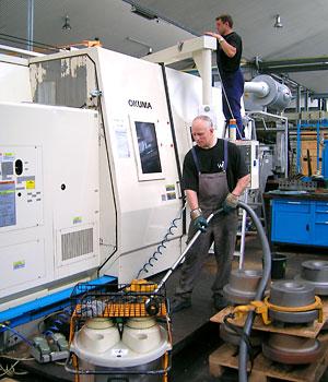 Industrielle Maschinenreinigung